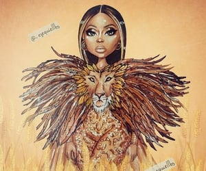 art, beyonce knowles, and lion king image