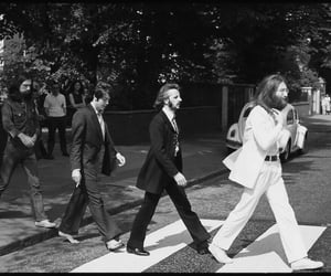 the beatles, abbey road, and george harrison image