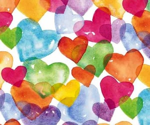 hearts and colorful image