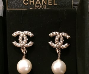 chanel, jewelry, and earrings image