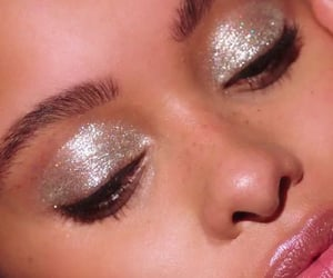 girl, glitter, and cute image