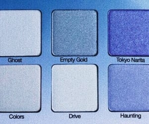 blue, makeup, and eyeshadow image