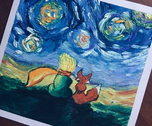 drawing and the little prince image