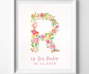 etsy, initials, and personalized gift image
