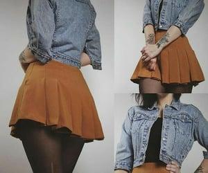 chicas, ropa, and faldas image