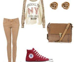 bag, converse, and fashion image