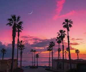 pink, sunset, and beautiful image