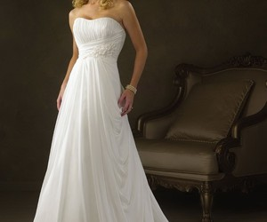 wedding dresses, wedding gowns, and cheap wedding gowns image