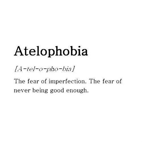 quotes, fear, and atelophobia image