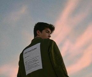 boy, sky, and tumblr image