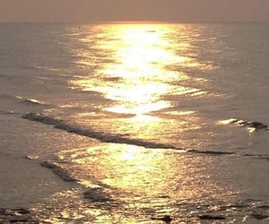 aesthetic, sea, and dawn image