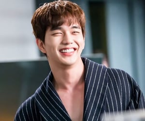actor, korean, and smile image