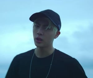 blonde, jin, and blue image