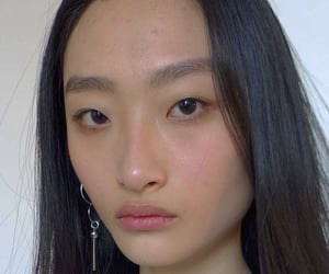 asian girl, beauty, and face image