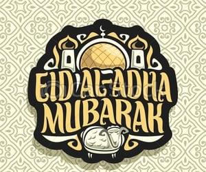 eid, eid mubarak, and eid ul adha mubarak image