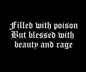 poison, quotes, and beauty image