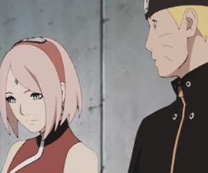 gif, naruto, and sakura haruno image