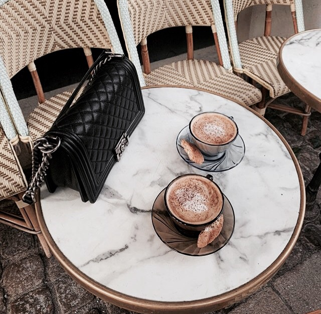 breakfast, chic, and elegance image