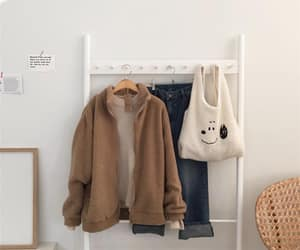 aesthetic, beige, and brown image
