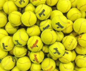 tennis, balls, and sports image