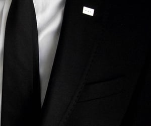 black, gentelman, and elegant image