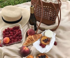 food, croissant, and french image