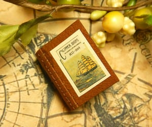 bookbinding, maritime, and nautical image