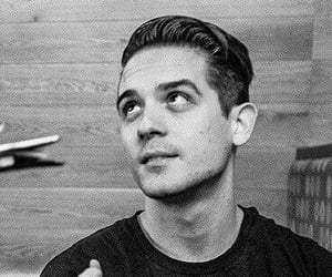 black and white, g-eazy, and cute image