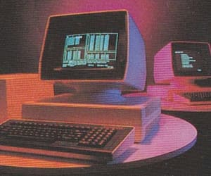 computer, aesthetic, and old image