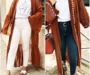 kaftans, abaya hijab style, and ramadan hijab style image