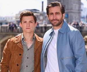 jake gyllenhaal and tom holland image