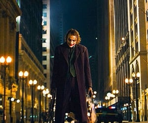 heath ledger, joker, and the dark knight image