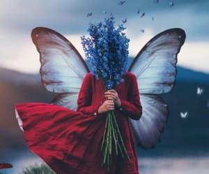 fantasy, فراشة, and حب عشق الم فراق image