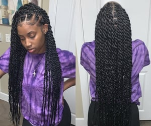 hairstyle, twist, and cute image