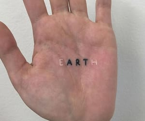 tattoo, earth, and art image