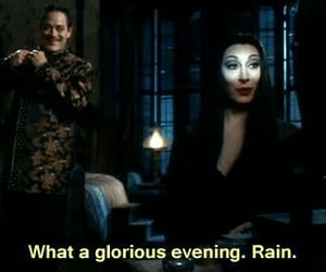gif, dark, and the addams family image