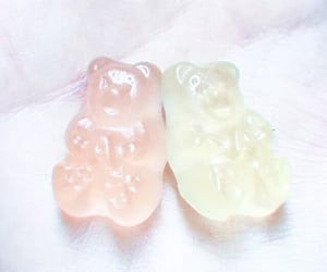 aesthetic, gummy bears, and icon image