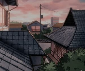 aesthetic, house, and anime image