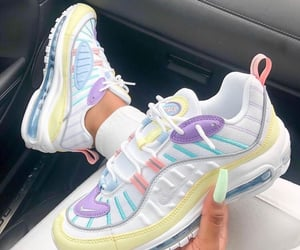 sneakers, nike, and pastel image