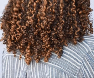 black, curls, and curly image