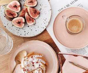 food, books, and breakfast image