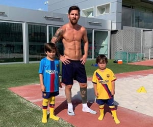 barcelona fc and messi image