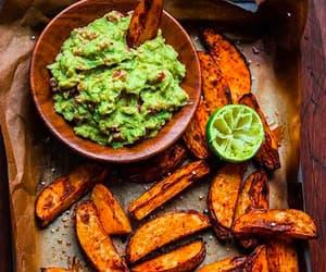 avocado, bake, and wedges image