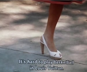 Louis Vuitton, quotes, and shoes image