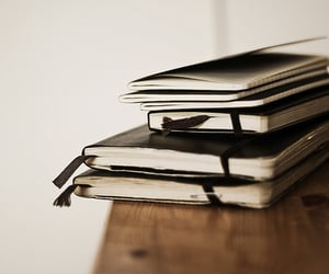 article, writing, and books image