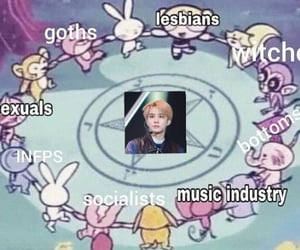 kpop, bts, and reactions image