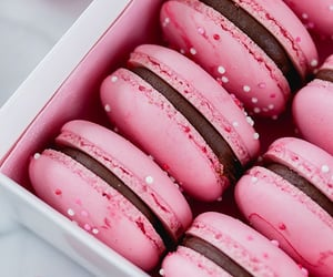 pink, food, and sweet image