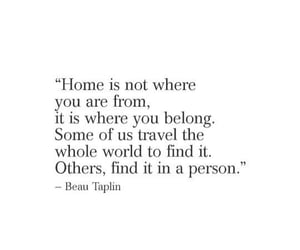 home, poem, and quotes image