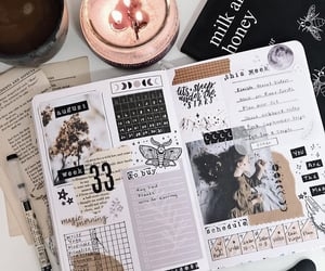 August, writing, and bujo image