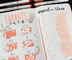 habits, orange, and writing image